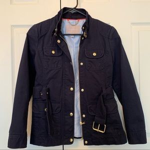 Banana Republic Blue Utility Jacket